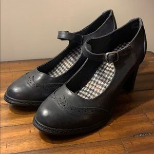 XAPPEAL Kenley Black Oxford Mary Jane Heels
